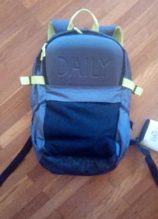 Новий наплічник рюкзак dailypaper з дощовиком всі навороти туризм/прогулянки