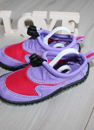 Аквашузы кораллки пляжная обувь разм 25-26 сток2 фото