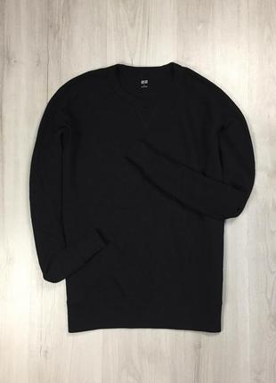 F8 свитшот черный uniqlo кофта фирменная