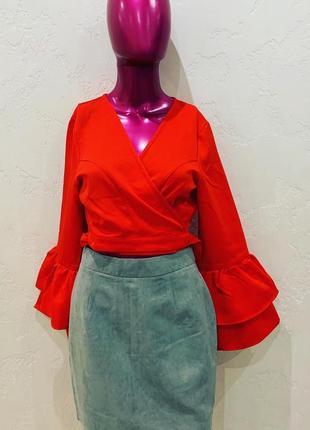 Блуза кроп