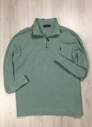 F7 свитер ralph lauren ральф зеленая поло кофта