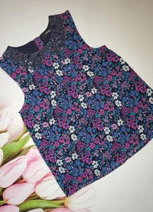 Шифоновая блуза george 7-8 лет рост 122-128 см