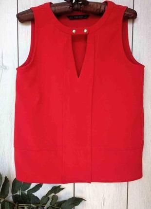Блузка без рукавов  zara