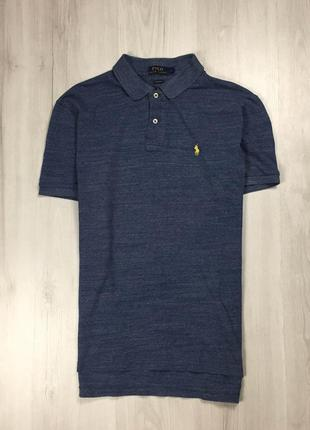 Z8 тенниска ralph lauren футболка поло синяя ральф