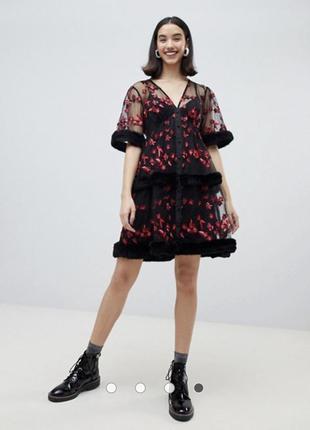 Бомбическое платье lost ink