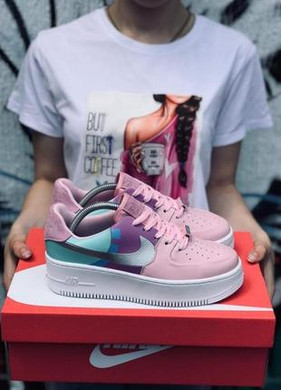 Кроссовки nike air force 1 custom