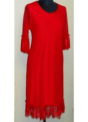 Шикарное , нарядное , натуральное платье  , турция , р. 48 -54