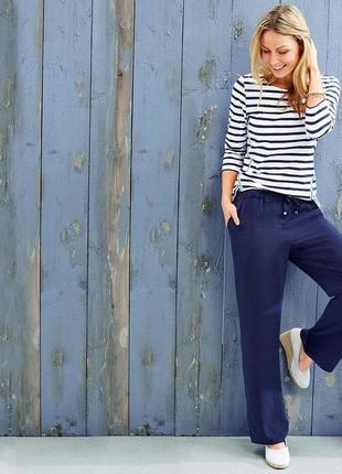 Стильные красивые летние брюки от тсм tchibo (чибо), германия, размер от 42 до 46