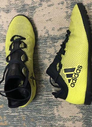 Футзалки сороконожки adidas размер 36!