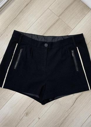Чёрные классика шорты boohoo