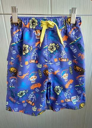 Пляжные шорты на 4-5 лет от dudeskin