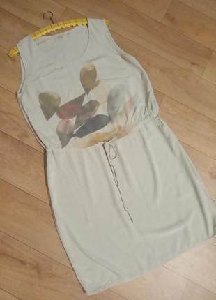 Легкое натуральное платье. италия