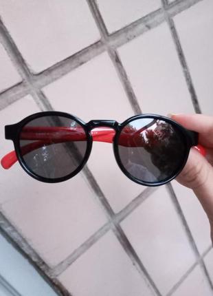 Polarized крутые круглые очки для девочки и для мальчика стиль леннон