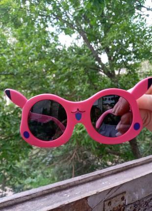 Polarized стильные очки для девочки покемон зайка