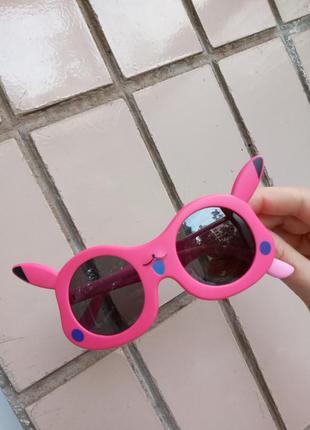 Polarized крутые стильные очки для девочки покемон зайка