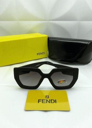 Солнцезащитные очки в стиле fendi теперь в стильной матовой оправе🖤
