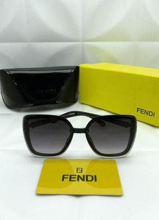 Солнцезащитные очки в стиле fendi 🖤