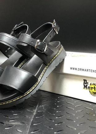 Dr martens sandals full black, женские сандали