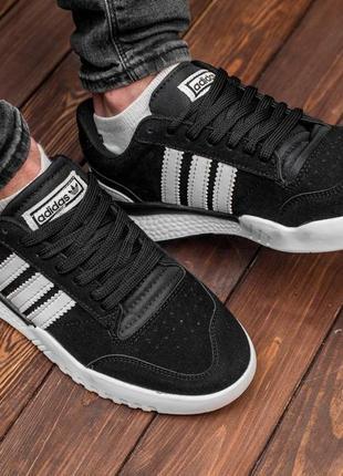 Замшевые топовые классические кроссовки мужские adidas