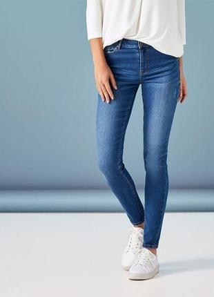 Синие джинсы super skinny s 36 euro (наш 42), esmara, lidl, германия