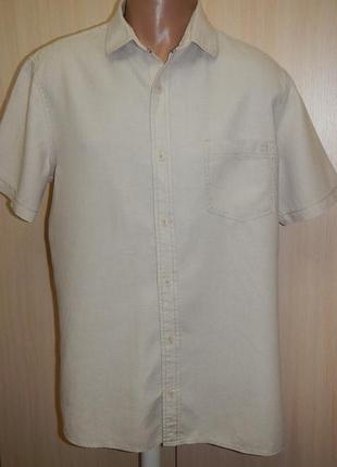 Льняная тенниска рубашка next p.xl органический лён