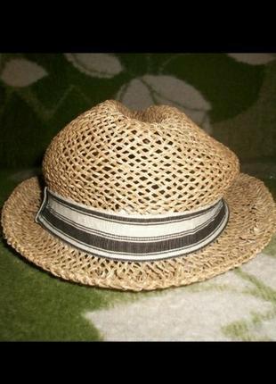 Шляпа из соломки