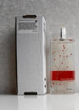 Armand basi sensual red 100ml w tester