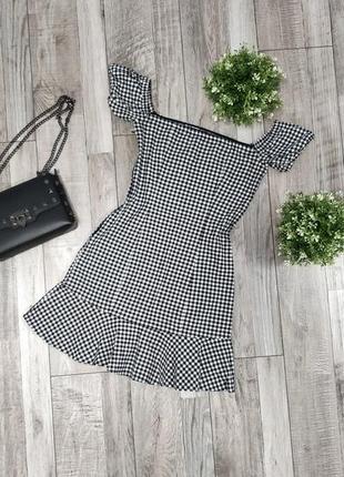 Платье/сарафан с открытыми плечами хлопок
