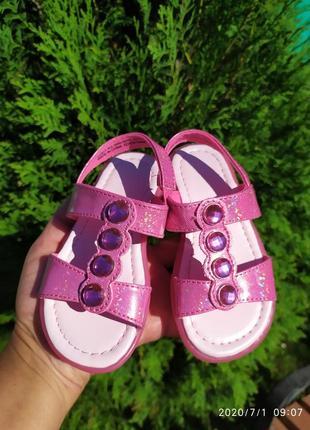 Босоножки на девочку, акция в подарок новые силиконовые сандалики