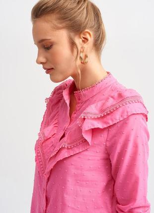 Малиновая блузка dilvin