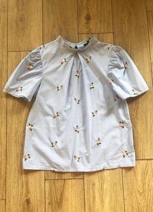 Блуза с рукавом- фонариком