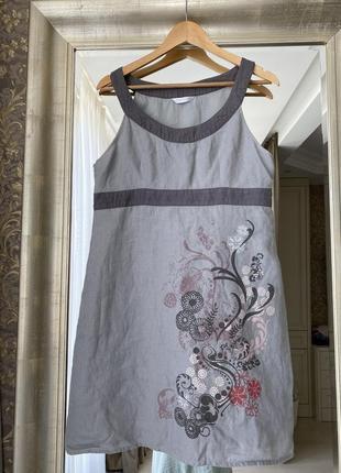 Льняное платье promod
