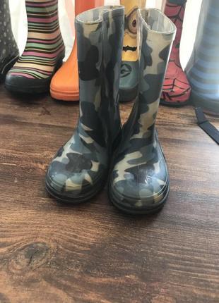 Ризинові чобітки 27 розмір