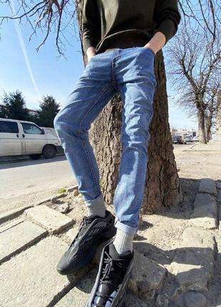 Мужские джинсы levis 511 синие