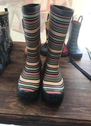 Ризинові чобітки 34 розмір