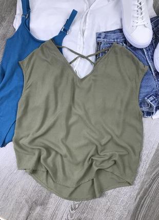 Блуза-футба свободного кроя