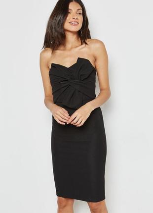 Элегантное платье бандо от new look