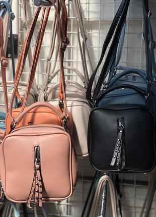 Сумка квадратная через плечо сумочка клатч кросс боди