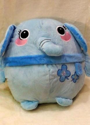 Плед-мягкая игрушка 3 в 1 слоник