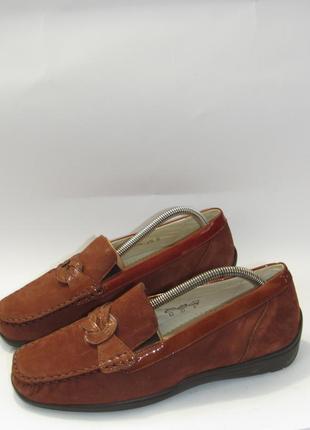 Waldlauffer шикарные кожаные туфли мокасины t26