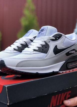 Мужские кроссовки 🔺 nike air max🔺white&grey