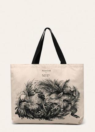 Новая пляжная сумка, оригинальный принт