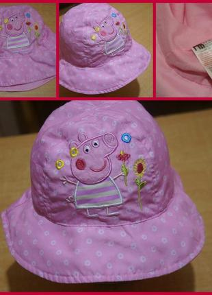 Mothercar панамка свинка пеппа 1-3 года панама