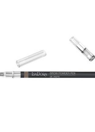 Пудровый карандаш для бровей isadora brow powder pen №09