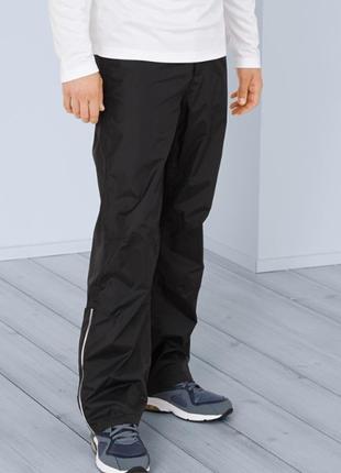 Водо-, ветронепрониаемые брюки со светоотражателями tchibo, р. наш: 50-52 (l евро)