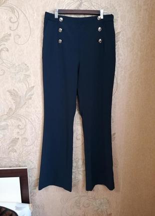 Обнова! прямые брюки с высокой посадкой