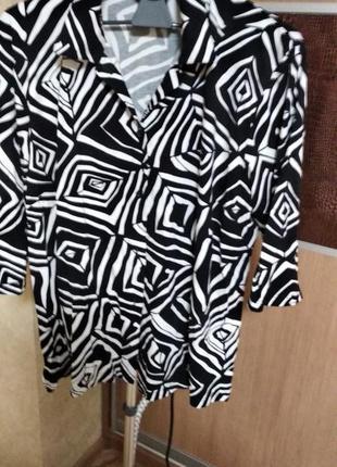 Стрейч блуза
