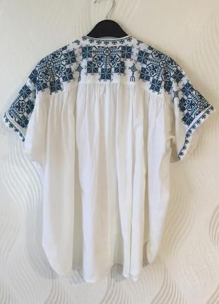Брендовая вышиванка star mela блуза рубашка