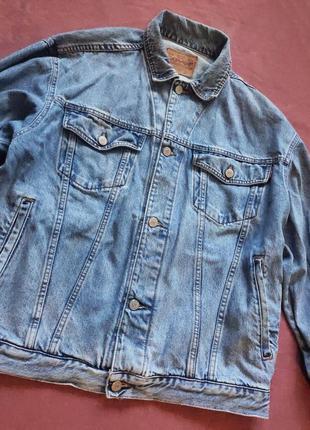 Джинсовая  куртка blue jeans cover levi's