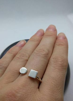 Срібне колечко (серебро, срібло, кольцо) 925 проба.